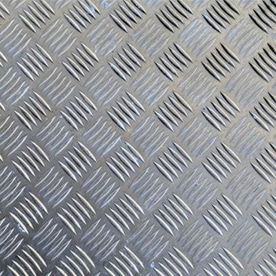 Chapas de Alumínio Antiderrapante